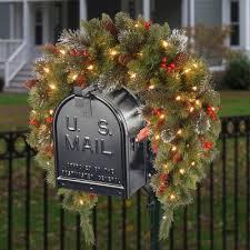 artificial swag christmas wreaths u0026 garlands target