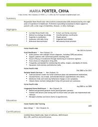 Caregiver Description For Resume Best Home Health Aide Resume Example Livecareer