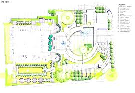 plans design modern house plans garden floor plan small with fence view design