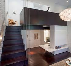 Small Space Manhattan Apartment Overview Love The Cable Stairs - Small space apartment design