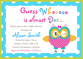 owl themed baby shower owl themed baby shower invites theruntime