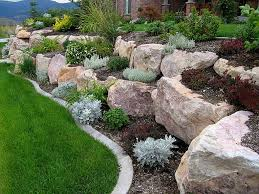Rock Garden Beds Rock Garden Beds With Small Shrubs Rock Garden Plants Can Spruce
