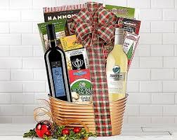 wine gift basket delivery wine elegance duet wine gift basket delivery to canada