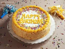 stylish name write latest party birthday cakes wallpapers hd
