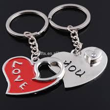 love key rings images Unique heart love zinc alloy metal paired key chain lovers couple jpg