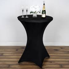 spandex table covers 6 pcs cocktail spandex table covers fitted wedding party catering