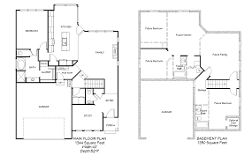 3 Car Garage With Apartment Plans Carolina 2 Car 1344 Rambler U2013 Utah Home Design