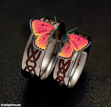 butterfly wedding rings images Butterfly wedding rings pictures freaking news jpg