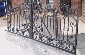 gate and fence wrought iron balcony railing decorative wrought