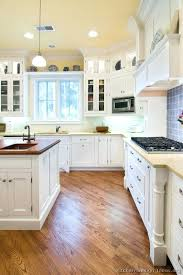 white or natural wood kitchen cabinets cabinet doors stained