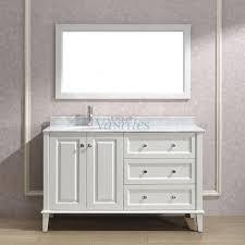 54 inch bathroom vanity single sink diy home building design