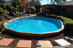 Deep Backyard Pool by Best Semi Inground Pools Ideas