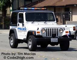 police jeep wrangler monrovia police