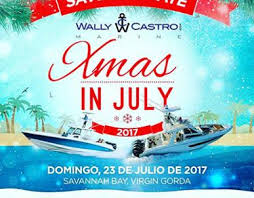 christmas in july xmas in july the british virgin islands