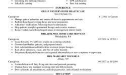 Caregiver Resume Sample by Resume Samples Download Free Resumes Tips