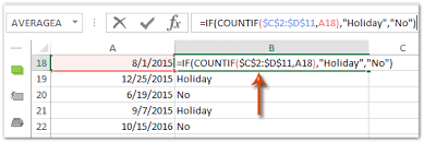 how to check if a date is and count days except