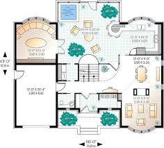 european style house plan 3 beds 2 50 baths 3002 sq ft plan 23 368