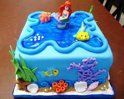 birthday cakes images wonderful little mermaid ariel birthday
