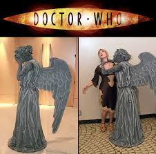 Halloween Costumes Weird Doctor Weeping Angel Costume Turns