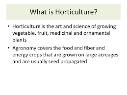 basic horticultural botany what is horticulture horticulture is