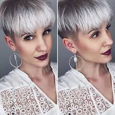 funky hairstyle for silver hair 1438 best sassy hair images on pinterest sassy hair 80 bands