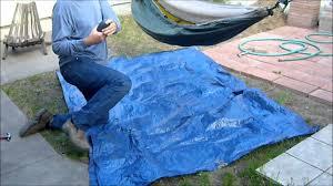 small ultralight hammock tarp youtube
