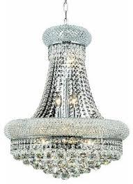 Elegant Crystal Chandelier Elegant Lighting 1800d20c Primo 14 Light Two Tier Crystal