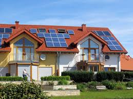 house with solar home with solar panels homesfeed