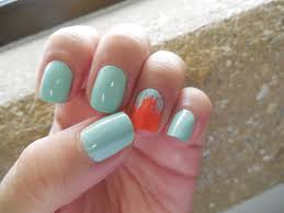 mireya loves makeup beauty hair tips mint orange nails