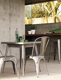 Tolix Dining Chairs Tolix Marais Two Seater Dining Table Design Within Reach