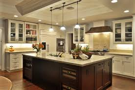 kitchen island different color than cabinets is the cabinet hardware on the island a different finish than that