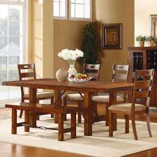 oak dining room set rustic dining set kitchen dining room furniture furniture