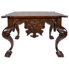 Quatrefoil Console Table Baroque Style Walnut Console Table Console Tables Consoles And