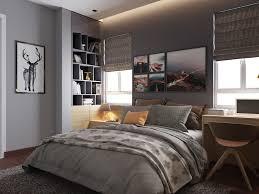 stores pour chambres à coucher chambre grise cosy 6 visualisations à découvrir pour trouver l