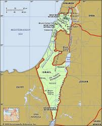 political map of israel israel facts history map britannica