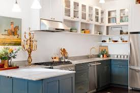 travertine countertops kitchen without upper cabinets lighting
