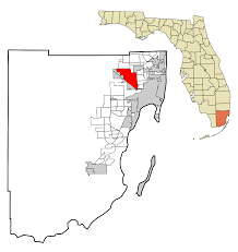 Florida District Map by Hialeah Florida Wikipedia