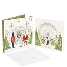 buy john lewis festive london charity christmas card pack of 10