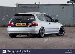 honda civic hatchback modified modified fifth generation or u0027eg u0027 honda civic stock photo royalty
