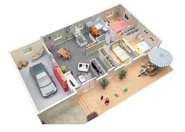 3 bedroom floor plans with garage 50 three 3 bedroom apartment house plans roommate garage