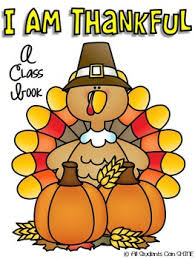 freebie i am thankful a class book thanksgiving