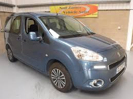 used peugeot partner tepee blue for sale motors co uk