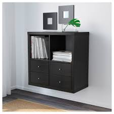 Glossy White Dresser Kallax Shelf Unit High Gloss White Ikea