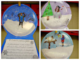 snow globe craft for kids be a great pairing to the craft