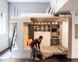 Guest Bed Small Space - super clever small space solution the transforming living cube