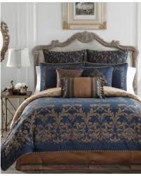 California King Comforter Sets On Sale Incredible Deal On Croscill Monroe Blue California King Comforter