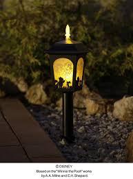 disney garden light lantern winnie the pooh led solar