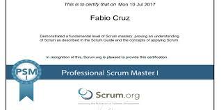 como obter certificações do scrum e agile fabio cruz com