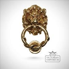 lions head door knocker door knockers the victorian emporium