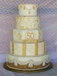 golden wedding cakes golden anniversary cake cakecentral
